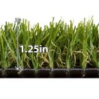 Tundra Green Grass 15 ft. x Your Choice Length Artificial Turf
