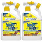 32 oz. Super Concentrated Non-Refillable Roof and Exterior Surface Cleaner with Hose Sprayer (2-Pack)