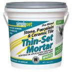 1 Gal. Premixed Stone Porcelain and Ceramic Tile Thin-Set Mortar