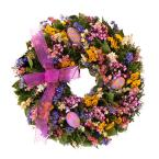 Easter Celebration 16 in. Dried Floral Wreath