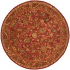 Antiquity Red 6 ft. Round Area Rug