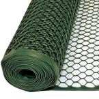 3 ft. x 25 ft. Green Poultry Fence