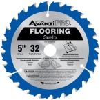 5 in. x 32 Tooth Wood and Laminate Flooring Saw Blade