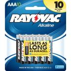 Alkaline AAA Size Card PDQ Battery (10 per Pack)