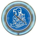 14 in. Seton Hall University Neon Wall Clock