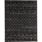 Tribal Essence Black 9 ft. 3 in. x 12 ft. 6 in. Area Rug