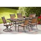 Niles Park 7-Piece Sling Patio Dining Set