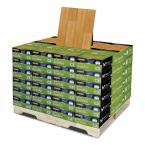 Horizontal Toast 5/8 in. Thick x 3-3/4 in. Wide x 37-3/4 in. Length Solid Bamboo Flooring (566.16 sq.ft. / pallet)