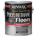 Super Fast-Drying 1-Gal. Polyurethane For Floors Gloss
