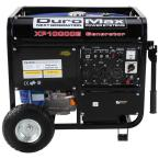10,000-Watt 16 HP Gasoline Powered Electric Start Portable Generator with Wheel Kit Included