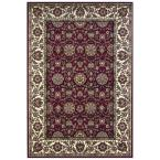 Classic Kashan Red/Ivory 7 ft. 7 in. x 10 ft. 10 in. Area Rug