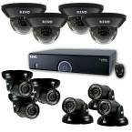 16-Channel 4TB 960H DVR Surveillance System with (10) 700 TVL 100 ft. Night Vision Cameras