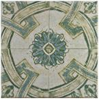 Klinker Retro Blanco Coreo 12-3/4 in. x 12-3/4 in. Ceramic Floor and Wall Quarry Tile