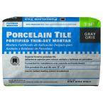 Porcelain Tile Gray 50 lb. Fortified Thin-Set Mortar