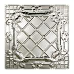 Toledo 2 ft. x 2 ft. Nail-up Tin Ceiling Tile in Clear