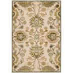 Lauren Ivory Viscose and Chenille 8 ft. 8 in. x 12 ft. Area Rug