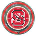 14 in. North Carolina State Neon Wall Clock