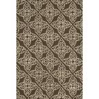 Summerton Lifestyle Collection Brown/Ivory 5 ft. x 7 ft. 6 in. Area Rug