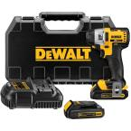 20-Volt Max Lithium-Ion 1/4 in. Brushless 3-Speed Impact Driver Kit with 1.5-Amp Batteries