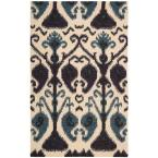 Siam Beige 5 ft. 6 in. x 7 ft. 5 in. Area Rug