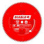 10 in. x 80-Tooth Non-Ferrous/Plastic Cutting Saw Blade (25-Pack)