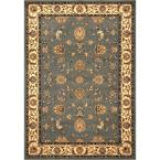 Dynasty Gray and Beige 9 ft. 2 in. x 12 ft. 5 in. Area Rug