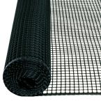 3 ft. x 15 ft. Black Hardware Net