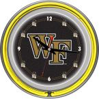 14 in. Wake Forest University Neon Wall Clock