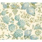 60.75 sq. ft. Williamsburg II Lightfoot Garden Wallpaper