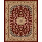 Classical Manor Red 7 ft. 10 in. x 11 ft. Area Rug