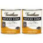 1 Qt. Honey Pine Wood Stain (2-Pack)