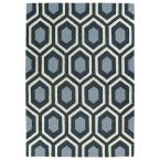 Trends Charcoal 8 ft. x 10 ft. Area Rug