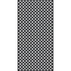 0.6 in. x 95.6 in. x 3.95 ft. Sahara Recycled Plastic Charcoal Decorative Screen (5-Piece per Bundle)