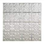Traditional 1 - 2 ft. x 2 ft. Lay-in Ceiling Tile in Brushed Aluminum