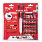 Shockwave Impact Duty Steel Driver Bit Set (40-Piece)