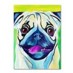 "32 in. x 24 in. ""Pugilicious"" by DawgArt Printed Canvas Wall Art"