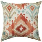 18 in. Alessandro Spiceberry Square Outdoor Throw Pillow