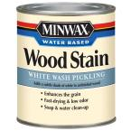 1 qt. White Wash Pickling Water Based Stain (4-Pack)
