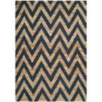 Organica Blue/Natural 3 ft. x 5 ft. Area Rug