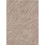 Eddy Grey 5 ft. 3 in. x 7 ft. 4 in. Area Rug
