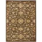 Heirloom Brown/Green 5 ft. 3 in. x 7 ft. 6 in. Area Rug