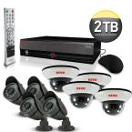16 CH 2TB DVR4 Surveillance System with (8) 600 TVL 33 ft. Nightvision Cameras