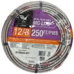12/3 x 250 ft. Stranded MC Lite Cable