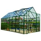 Snap & Grow 8 ft. x 16 ft. Green Greenhouse