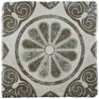 Costa Cendra Decor Daisy 7-3/4 in. x 7-3/4 in. Ceramic Floor and Wall Tile (11.5 sq. ft. / case)
