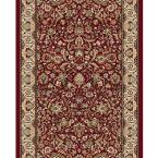 Super Kashan Red 2 ft. 2 in. x Your Choice Length Roll Runner