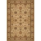 Dynasty Beige 9 ft. 2 in. x 12 ft. 5 in. Area Rug