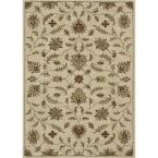 Fairfield Lifestyle Collection Ivory 5 ft. x 7 ft. 6 in. Area Rug