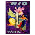 "18 in. x 24 in. ""Rio Varig"" Canvas Art"