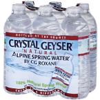 Crystal Geyser 500 ml Alpine Spring Water (6-Pack)